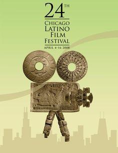 24th Chicago Latino Film Festival Latino Film Festival, Film Festival Poster, Architecture Tattoo, Wedding Humor, Funny Art, Book Cover Design, Animal Design, Tattoos, Design Inspiration