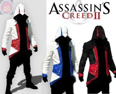 Assasin Creed IIIconner kenway hoodie coat faux by h0tsp0tpr0ducts, $89.99