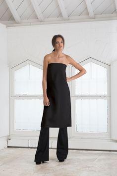 BLACK AUDREY cocoon dress
