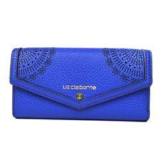 Liz Claiborne Envelope Clutch ($23) ❤ liked on Polyvore featuring bags, handbags, clutches, liz claiborne, blue purse, envelope clutch bag, blue clutches and liz claiborne purses