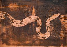 Python Python, Snake, Copper, Prints, Animals, Animales, Animaux, A Snake, Animal