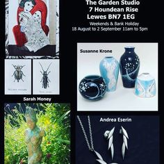 Don't forget it's open studios once more this weekend! Visit this beautiful house with gorgeous artwork and cakes. Garden Studio, Bank Holiday, Unique Art, Galleries, Beautiful Homes, Studios, Forget, Handmade Jewelry, Shops
