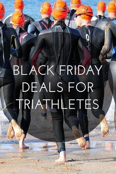 Whether you are looking for a new turbo trainer, wetsuit or race entry, I've rounded up the best Black Friday deals for triathletes.