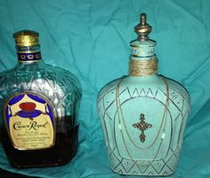 My reinvented crown royal bottle