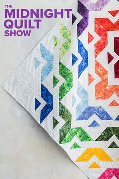 """CraftsyHow do you knock out a layer-cake in no time at all? You make your half-square triangles eight at a time. (Yeah, you heard us right.) Angela's here to show you, so you can """"rock out with your block out. Quilting Tips, Quilting Tutorials, Machine Quilting, Quilting Projects, Quilting Designs, Layer Cake Quilt Patterns, Layer Cake Quilts, Layer Cakes, Strip Quilts"""