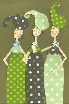 3 Happy Ladies