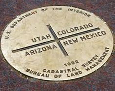 Four Corners. The only place in the United States where you can be in four states at one time!