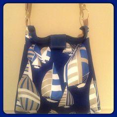 Robert Allen Nautica Bag with Adjustable by DesignedbyAlexandra, $40.00