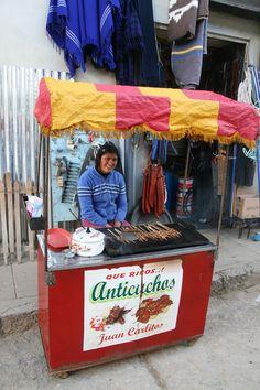 street food, Leymebamba, Peru