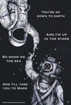 Show Me the Sea & I'll Take You to Mars