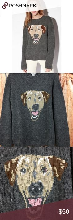"""PJ Peter Jensen Dog Sweater PJ by Peter Jensen dog sweater in women's size Medium . No flaws.  Brand: PJ by Peter Jensen  Style: Dog Sweater  Size: Medium  Color: Gray, brown, tan Fabric:  80% Aryclic; 20% Wool   Measurements laying flat (measurements are approximate): Bust: 22.5""""  Length: 27"""" Pit-to-cuff: 21""""  *All items come from smoke and pet free environment* Peter Jensen Sweaters Crew & Scoop Necks"""