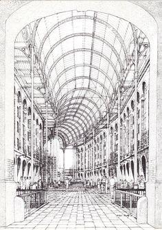 Michael Twigg Brown and Partners | Hays Galleria | Londres, Reino Unido | 1986 | Timothy Associates - Arthur Timothy
