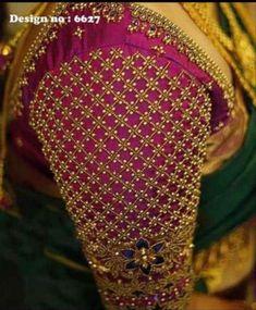 Best Blouse Designs, Bridal Blouse Designs, Blouse Neck Designs, Blouse Patterns, Simple Kurta Designs, Hand Embroidery Design Patterns, Hand Work Blouse Design, Hand Designs, Saree Blouse