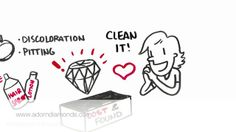 """This is """"Diamond care"""" by Adorn Diamonds on Vimeo, the home for high quality videos and the people who love them. Diamonds And Gold"""