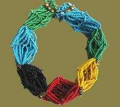 The Deborah Garner Collection - Zulu Beaded Necklace