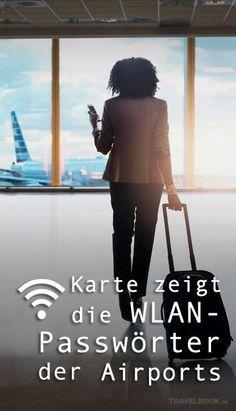 Wer am Flughafen ins Internet will, muss sich den Zugang oft teuer erkaufen. Dank der genialen Idee eines Reisebloggers können wir ab sofort an vielen Airports weltweit gratis surfen: Anil Polat hat eine interaktive Karte erstellt, auf der die WLAN-Zugänge inklusive Passwörtern gelistet sind.