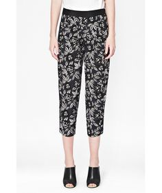 French Connection Argan Rose Floral Trousers