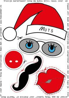 print, knip, plak en maak je eigen kerstgroet: http://www.hoevedder.nl/d-i-y-kerstkaart/
