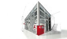 S3 arquitectos | CTT – flagship store