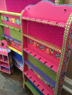 Hanging Shopkins organization by Kiersten Hoots! Please contact me for ordering for your holiday's!!!https://www.etsy.com/shop/HoneyBHive?section_id=17880199