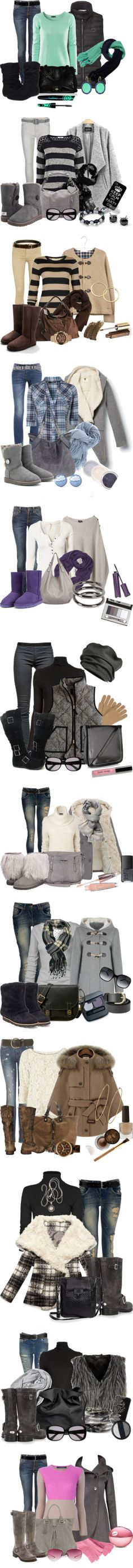"""""""Weekend Style"""" by michelerussell ❤ liked on Polyvore"""