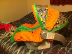 Side view car seat cover I made