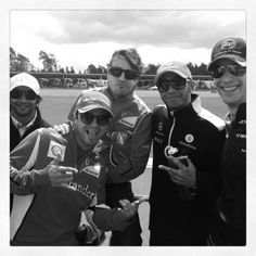 Alonso, Massa, Hamilton, Senna, Narain K.