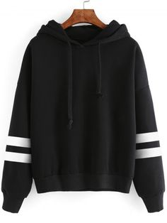 GET $50 NOW | Join RoseGal: Get YOUR $50 NOW!http://www.rosegal.com/sweatshirts-hoodies/striped-sleeve-oversized-hoodie-753827.html?seid=6966218rg753827