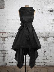 Georgie Dress in Black Silk | Blonde And Wise Www.blonde-and-wise.co.uk