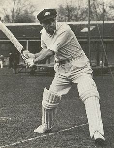 """***Sir Donald George Bradman, AC August 1908 – 25 February often referred to as """"The Don"""", was an Australian international cricketer, widely acknowledged as the greatest batsman of all time; **Some of the records still held by Bradman : - History Of Cricket, World Cricket, Tours Of England, Batting Average, Cricket Sport, Test Cricket, Play N Go, After Life, Rugby"""
