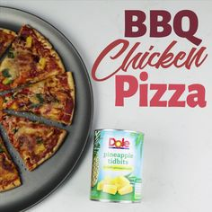 Feeling like it's a pizza kind of night? This is one of those easy and delicious dinner, the key ingredient is Dole Canned Pineapple Tidbits, of course!