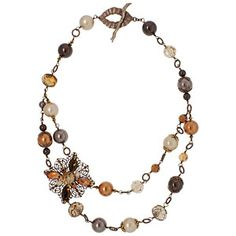 Autumn Romance Necklace | Fusion Beads Inspiration Gallery