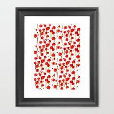 Début du printemps Framed Art Print