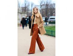Elena Perminova: look super chic da sfilata   Tu Style