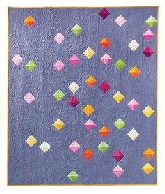 Floating Prisms Free Pattern: Robert Kaufman Fabric Company