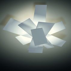 Big Bang Wall Light & Foscarini Bing Bang Ceiling Light