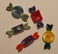 paper quilling fruits - Google Search