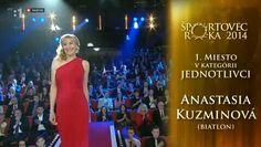 Anastasia Kuzmina - športovec roka 2014