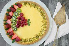 Crostata alla frutta senza glutine con crema al limone Bimby Camembert Cheese, Dairy, Food, Essen, Meals, Yemek, Eten