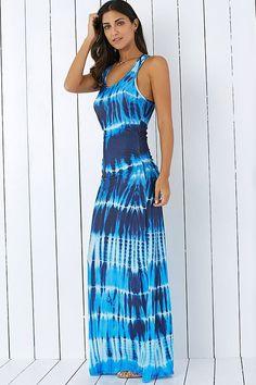 Tie-Dye Illusion Dress