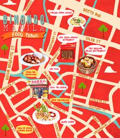 Food Crawl: Tried And Tested Places To Eat In Binondo, Manila Roman Fountain, Bucket List Holidays, Siomai, Mochi Cake, Food Map, Lion Dance, Philippines Food, Holiday Places, How To Wake Up Early