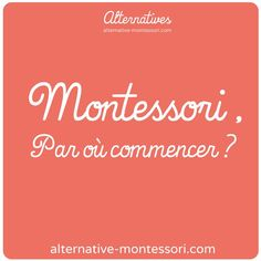 5 steps to discover and understand Montessori . Maria Montessori, Montessori Preschool, Montessori Education, Toddler Preschool, Kids Education, Education Positive, Best Teacher, Homeschool, Positivity