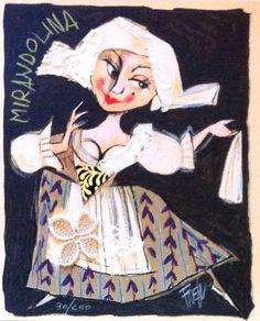 Mirandolina, Paolo Fresu  Grafica e collage #gliartistidiGALP