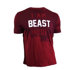 Beastmode wear by Marshawn Lynch. THE fashion of choice in Seattle. At least for Seahawks fans. Monsta Clothing, Gym Outfit Men, Gentlemen Wear, Mens Fitness, Fitness Apparel, Fitness Wear, Gym Shirts, Athletic Outfits, Gym Wear