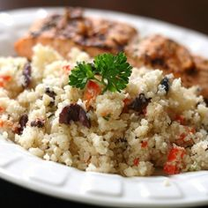 """Paleo Cauli Couscous 