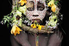 Suri lady from tulgit / ethiopia