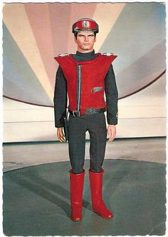 Gerry Anderson (1929 - 2012) Captain Scarlet. Dutch postcard by Gebr. Spanjersberg N.V., Rotterdam. Photo: Century 21 Ltd, 1968. At 26 December 2012, Captain Scarlet creator Gerry Anderson(1929 - 2012) passed away. His puppet adventures thrilled millions of children across the world. Anderson was responsible for some of the most instantly recognisable characters and series ever made for television. Shows like Thunderbirds, Stingray and Captain Scarlet remain timeless