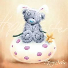 Taddy Teddy--- Happy Easter! … More