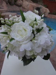 NOW ON CLEARANCE   Bridal bouquet designed by AlwaysElegantBridal, $52.00