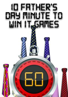 Father's Day Minute to Win It Games http://www.childrens-ministry-deals.com/products/fathers-day-minute-to-win-it-games